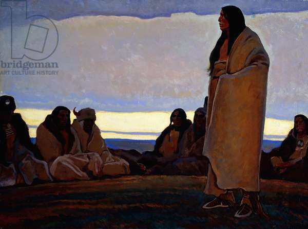 Tradition, 1922-29 (oil on canvas)