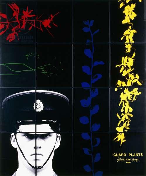 Guard Plants, 1980 (sixteen hand-coloured gelatin silver prints)
