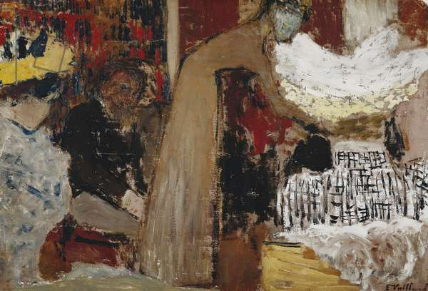 At the Performance; Au Spectacle, c.1895 (oil on canvas)