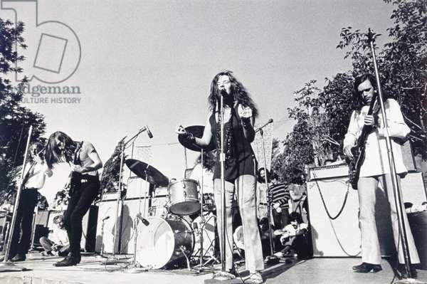 Janis Joplin, c. late 1960s (b/w photo)
