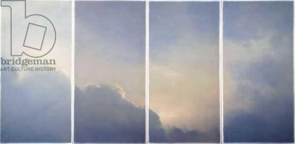 Clouds (Window), 1970 (oil on canvas)
