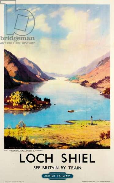 Loch Shiel, poster advertising British Railways (colour litho)