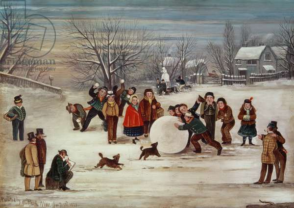 Snow Scene, 1879