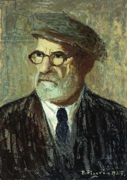 Self-Portrait; Autorretrato, 1925 (oil on board)