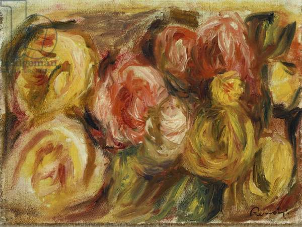 Roses, 1919 (oil on canvas)