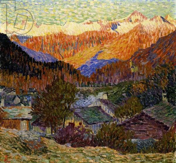 Autumn Morning (Original), 1908 (oil on canvas)