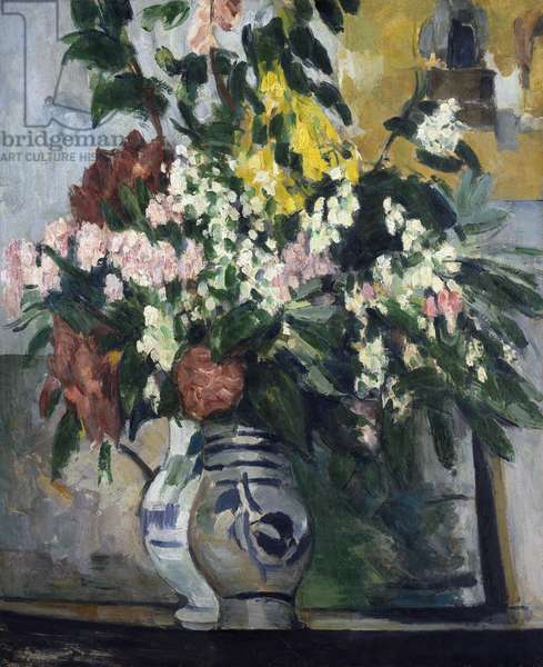 Two Vases of Flowers, c.1877 (oil on canvas)