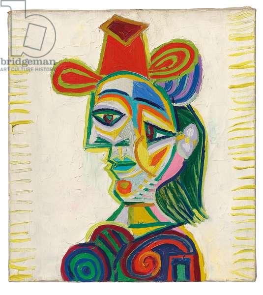 Buste de femme (Dora Maar), 1938 (oil on canvas)