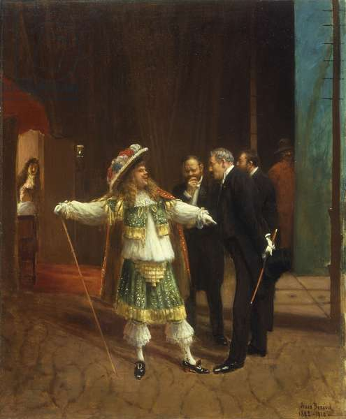 Coquelin the Elder in 'Le Bourgeois Gentilhomme' by Moliere, c.1882 (oil on canvas)