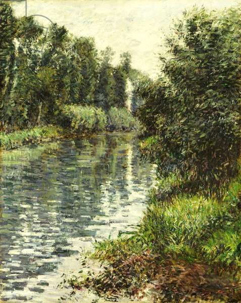 A Small Branch of the Seine, Argenteuil, 1888-90 (oil on canvas)
