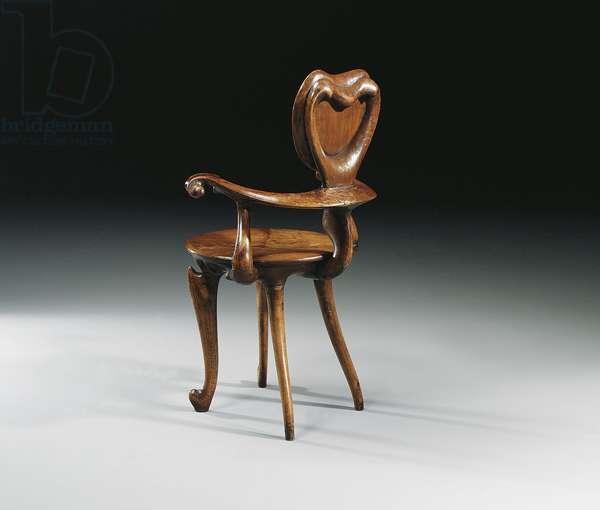 Padouk Armchair, c.1902 (wood)