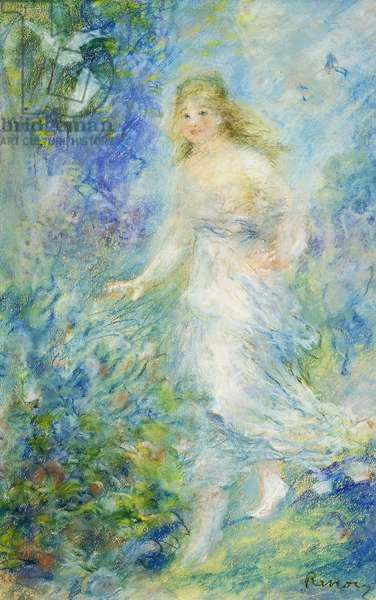 Spring  (The Four Seasons); Le Printemps (Les Quatre Saisons), 1879 (pastel on paper)