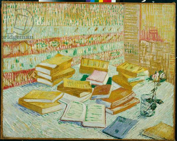 The Parisian Novels (The Yellow Books), 1887 (oil on canvas)