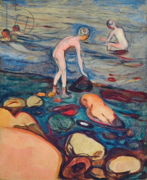 Bathers, 1897-1899 (oil on canvas)