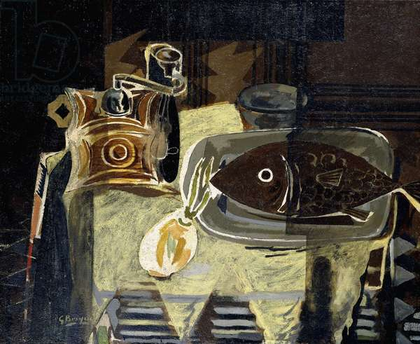 The Coffee Mill, 1942 (oil on canvas)
