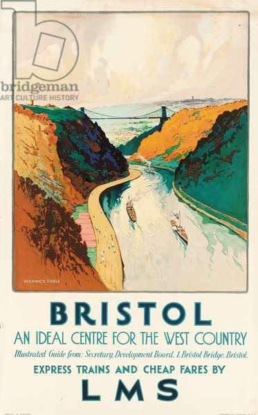 Bristol, 1931 (colour litho)