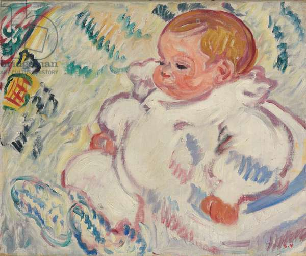 The Baby; Le Bebe, 1908 (oil on canvas)