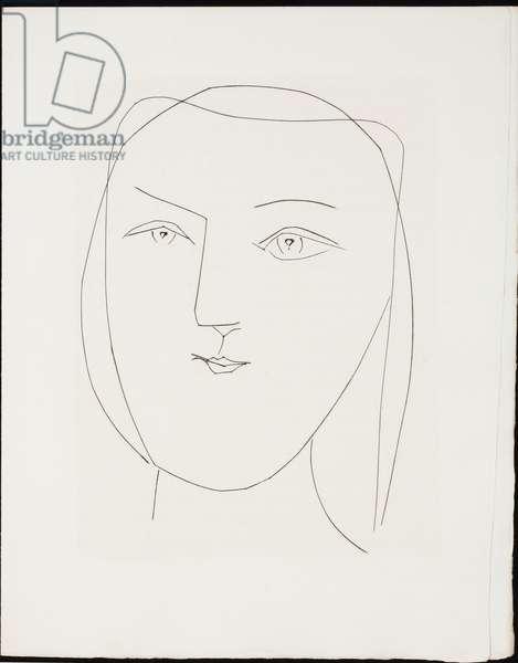 Prosper Merimee, Carmen, 1949 (engraving)