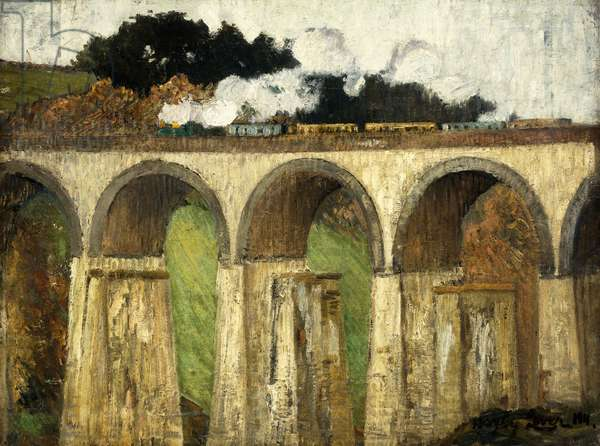 High Bridge, St, 1911 (oil on canvas)