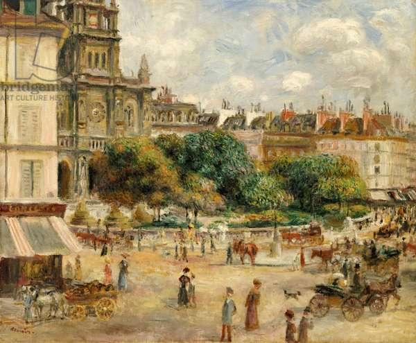 Place de la Trinite, 1893 (oil on canvas)