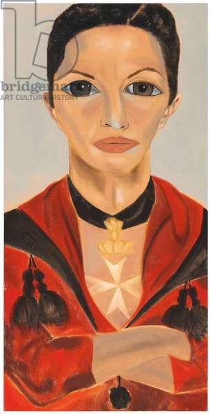 Alba Clemente, 2006 (oil on canvas)