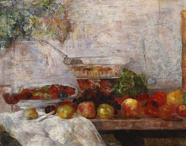 Still Life with a Parrot; Nature Morte au Perroquet, 1889 (oil on canvas)