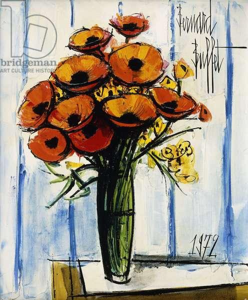 Bouquet de Fleurs, 1972 (oil on canvas)