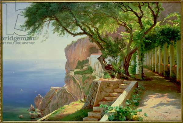 Amalfi (oil on canvas)