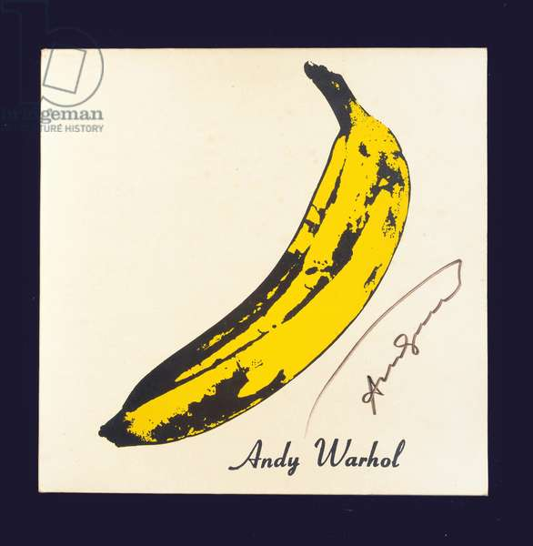 The Velvet Underground, 1967 (colour litho)