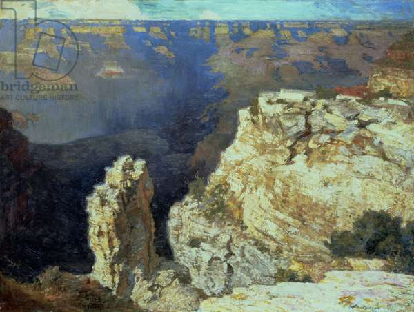 The Grand Canyon (oil on canvas)