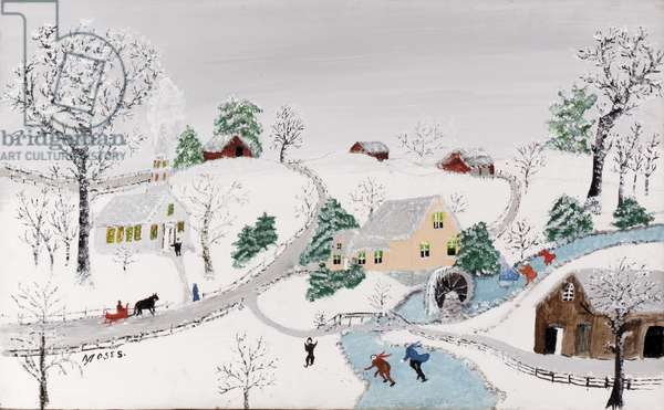Winter, 20th September 1956 (oil on board)