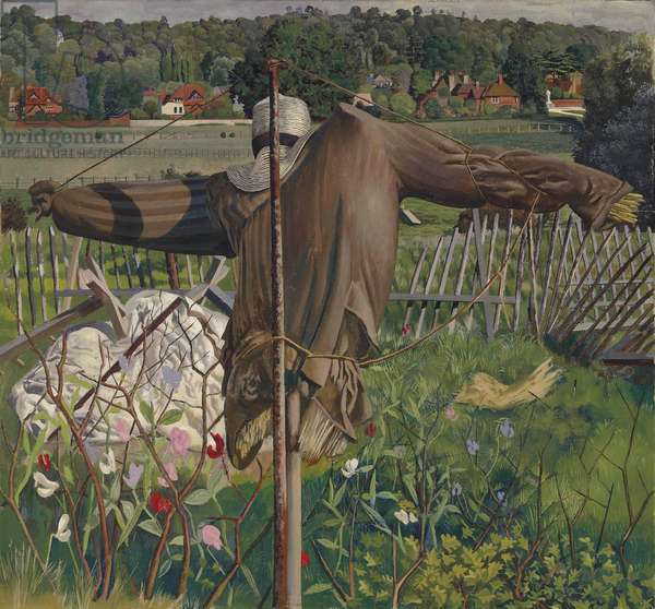 The Scarecrow, Cookham, 1934 (oil on canvas)