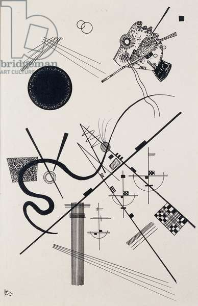 Untitled (Drawing 4); Untitled (Dessin 4), 1924 (ink on paper)