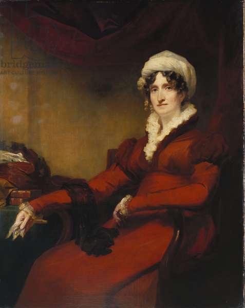 Portrait of Mrs Elizabeth Stewart Richardson (oil on canvas)