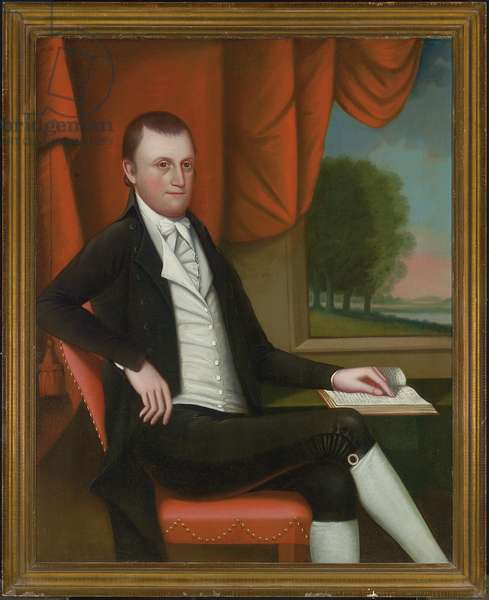 Mr. Nathaniel Ruggles, 1804 (oil on canvas) (pair to 2907483)