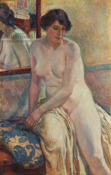 The Model's Rest, 1912 (oil on canvas)