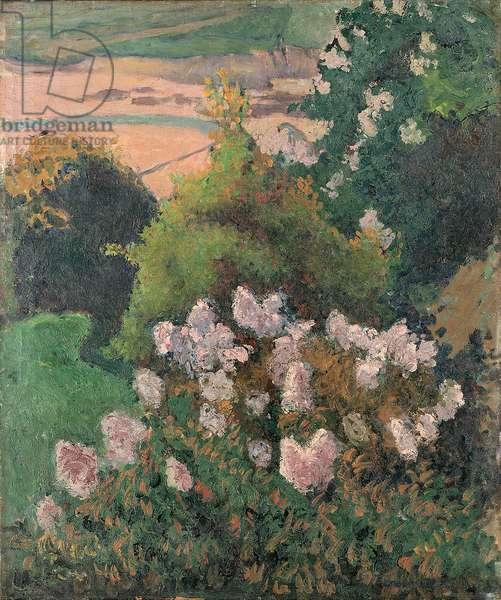 Saint-Briac landscape, 1886 (oil on canvas)