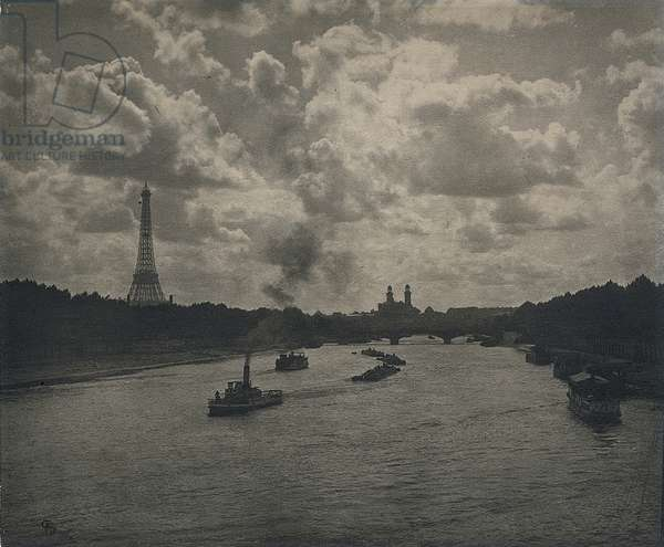 Paris: the Seine, 1896 (gelatin silver print)