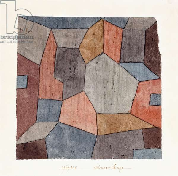 Hauser-Enge, 1939 (watercolour and charcoal on paper)