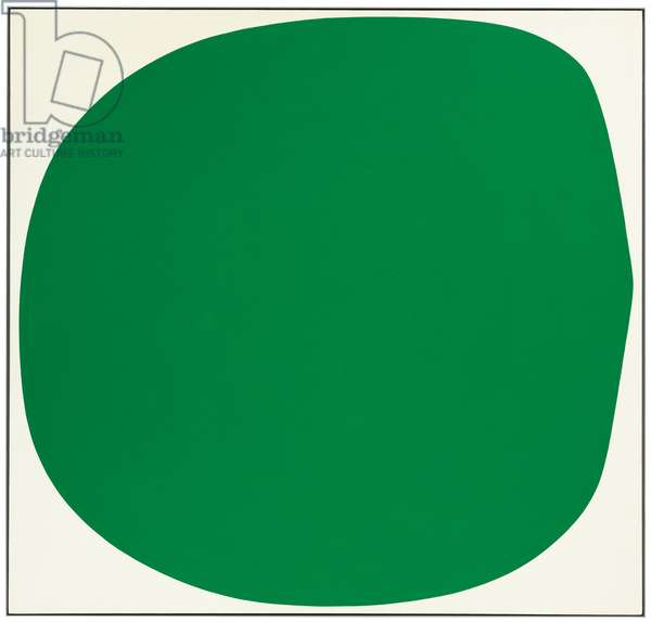 Green White, 1961 (oil on canvas)