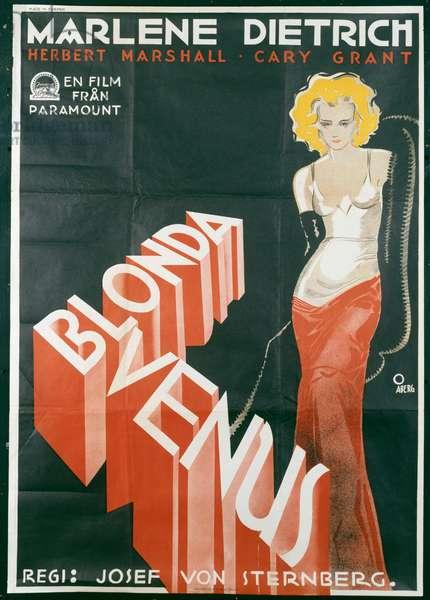 Blonde Venus, 1932 (lithograph)