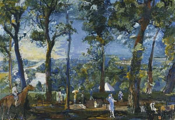 Richmond Terrace, 1926 (oil on canvas)