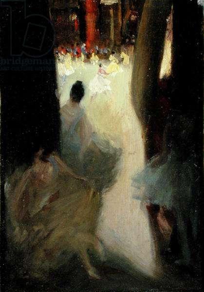 Ballet Girls, Philadelphia (oil on canvas)