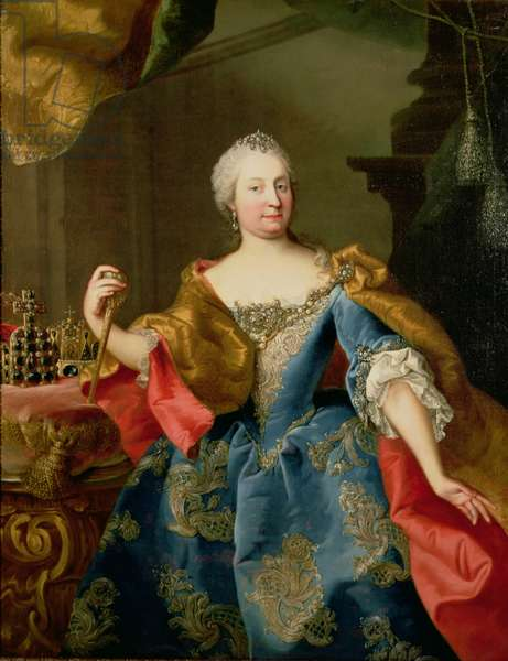 Portrait of Empress Maria Theresa of Austria