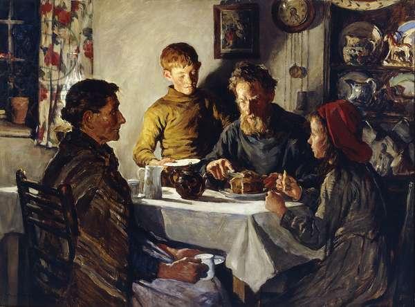 The Saffron Cake, 1920 (oil on canvas)
