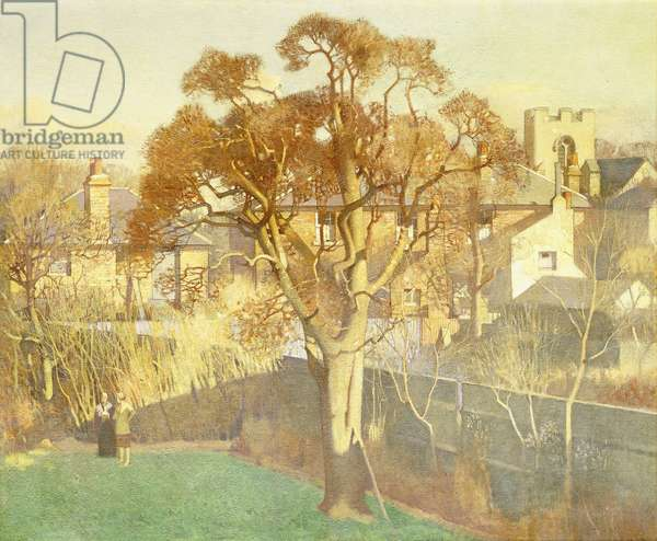 The Gilded Pear Tree, 1926 (oil on canvas)