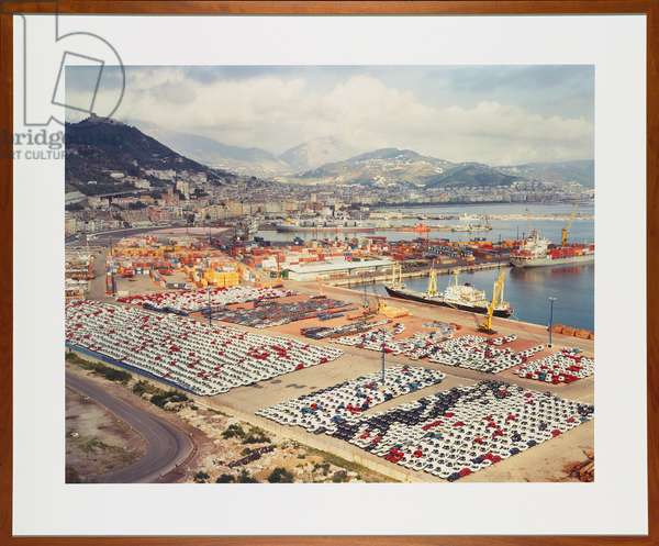 Salerno, 1990 (chromogenic colour-print mounted to Plexiglas with glass front, frame)