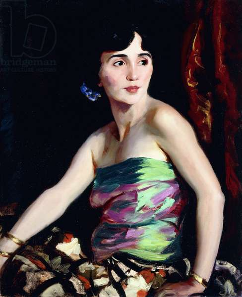 Isolina Maldonado - Spanish Dancer, 1921 (oil on canvas)