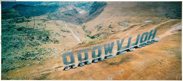 Hollywood, 2001 (cibachrome print face-mounted on plexiglas)
