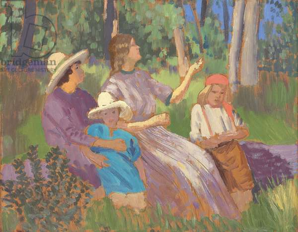 The Fairy Tale, c.1911 (oil and pencil on panel)